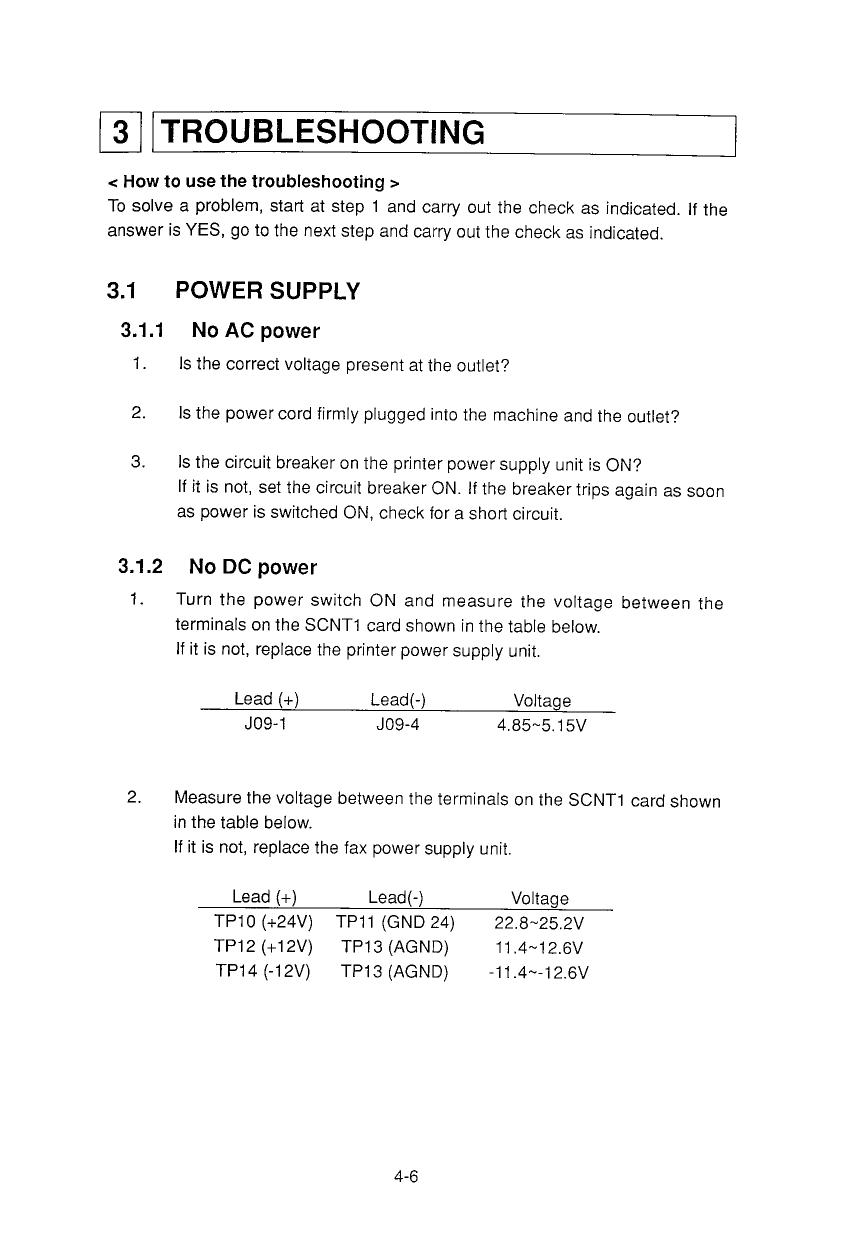 canon fax l780 parts and service manual
